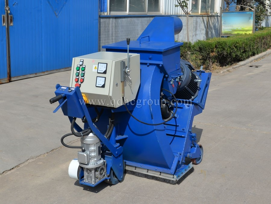 Portable mobile road shot blasting machine 1000mm